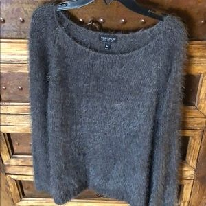 TOPSHOP fluffy fuzzy sweater